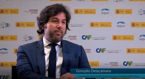 """Delacámara: """"CAF busca encontrar interlocutores debate fuera sector agua"""""""