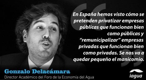 Entrevista Gonzalo Delacámara, Director Académico Foro Economía Agua