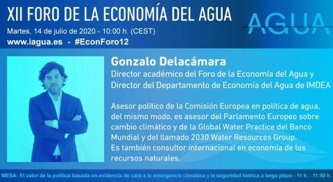 """"""" recursos hídricos son bienes públicos que no estamos haciendo suficientes esfuerzos"""""""