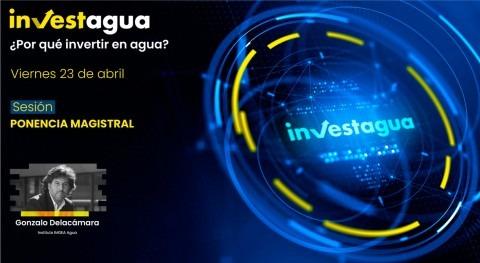 """Gonzalo Delacámara INVESTAGUA: """" agua es desafío gobernanza"""""""