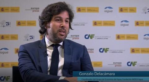"""Delacámara: """" Latinoamérica cualquier crisis agua es dificultad gobernanza"""""""