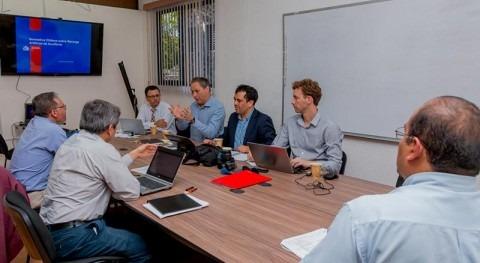 Delegación chilena visita IMTA