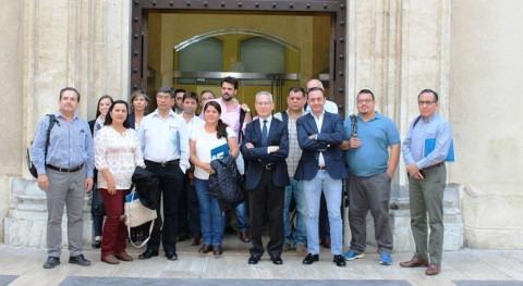 CHS recibe delegación técnica y comercial Hispanoamérica