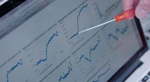 monitoreo ecofisiológico Decentlab se muestra Swiss Television SRF