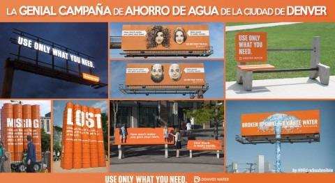 genial campaña ahorro agua ciudad Denver