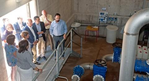 Rioja pone marcha nuevo depósito agua Navarrete