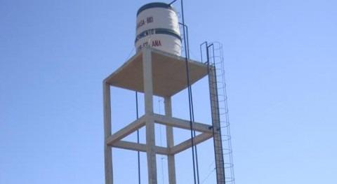 Uno de los sistemas de agua y saneamientos inaugurados.
