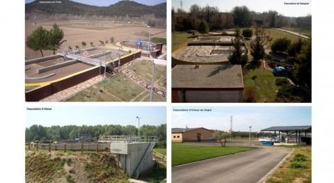 Licitada redacción proyecto constructivo depuradora Cubells, Noguera