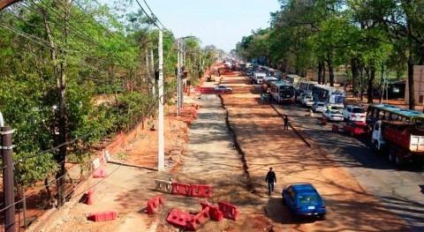 Paraguay concentrará obras desagüe pluvial calle Emilio Cubas San Lorenzo