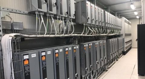 Desalación industrial consumo energía