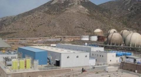 Policía Nacional registra instalaciones desaladora Escombreras