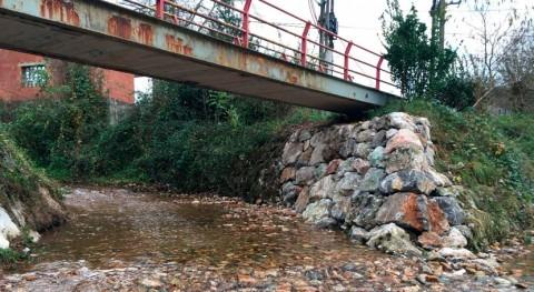 actuaciones mantenimiento y saneamiento río Ayones concluyen
