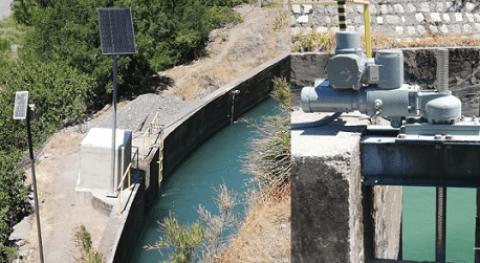 Automatización desripiadora Canal Maule Norte