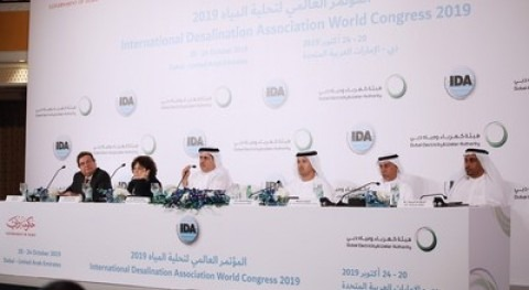 Dubai hospedará mayor congreso internacional desalinización agua
