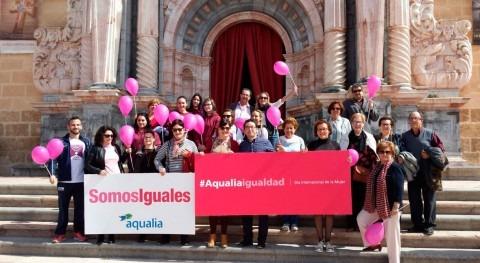 Aqualia celebra Día Mujer Caravaca Cruz