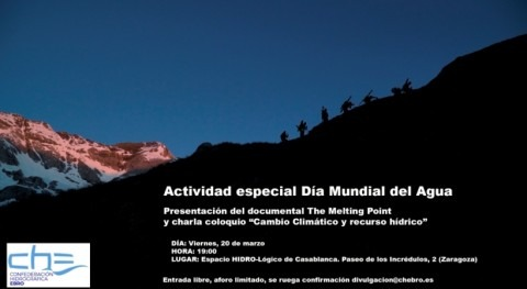 Presentación documental The Melting Point y charla coloquio Día Mundial Agua