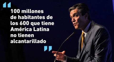 """José Carrera: """"Existen 34 millones personas América Latina que no tienen agua"""""""