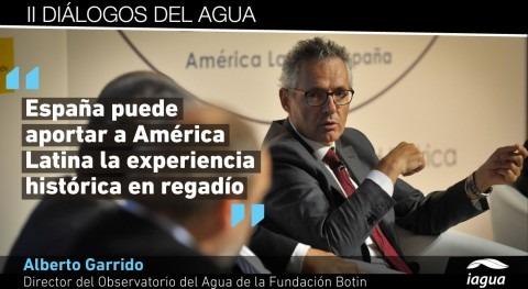 """Alberto Garrido: """" seguridad hídrica y agricultura son temas gobernanza mundial"""""""