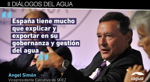 """Angel Simón: """"España tiene mucho que explicar y exportar gobernanza y gestión agua"""""""