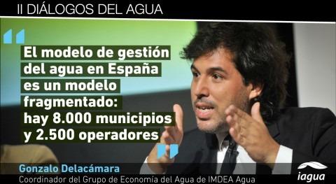 """Gonzalo Delacámara: """"España echa falta conjunto principios regulación nivel estatal"""""""