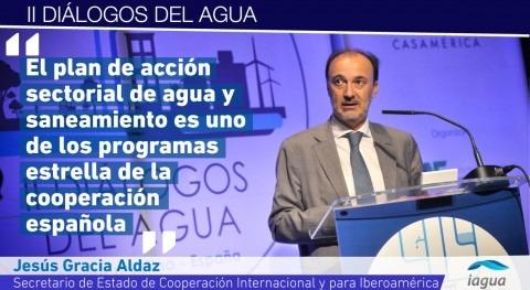 """Jesús Gracia Aldaz: """" agua protagoniza programas estrella cooperación española"""""""