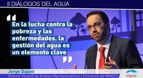 """Jorge Dajani: """"Necesitamos participación sector privado materia gestión aguas"""""""