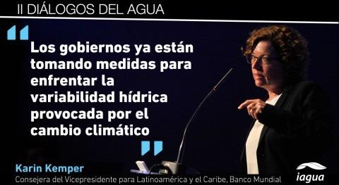 "Karin Kemper: "" gobiernos están tomando medidas fortalecer inversiones climateproof"""
