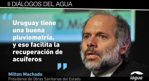 """Milton Machado: """"Debido al cambio climático, hay más sequías e inundaciones Uruguay"""""""