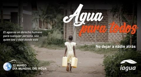 Infografía Día Mundial Agua: No dejar nadie atrás