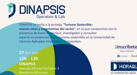 """Dinapsis acoge jornada """"Turismo Sostenible: nuevos retos y experiencias sector"""""""