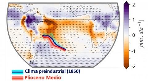 lluvias hemisferio sur podrían disminuir 30% 2100 si temperatura sube 3 ºC