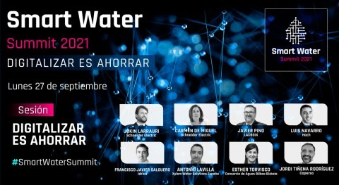 sector agua, digitalizar es ahorrar