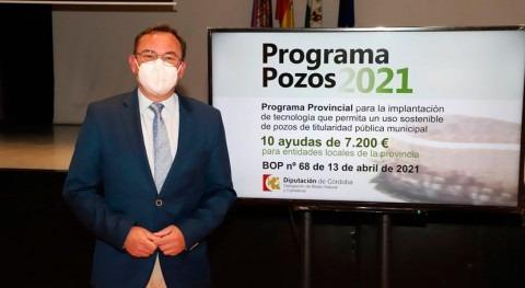 Córdoba implantará tecnología uso eficiente pozos públicos diez municipios