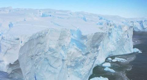 dique seguridad hielo Antártida, peligro