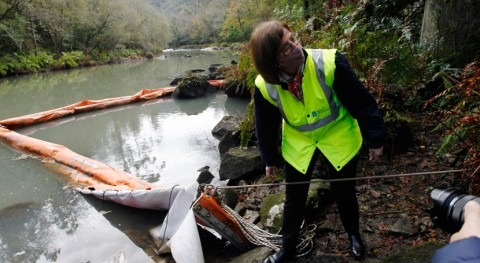 Xunta vuelve permitir consumo agua Pontedeume y repercutirá Endesa gastos