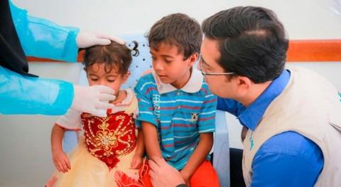 esfuerzo trabajadores locales Yemen tiene recompensa: Disminuyen casos cólera