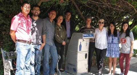 Investigadores mexicanos diseñan dispensador agua inteligente