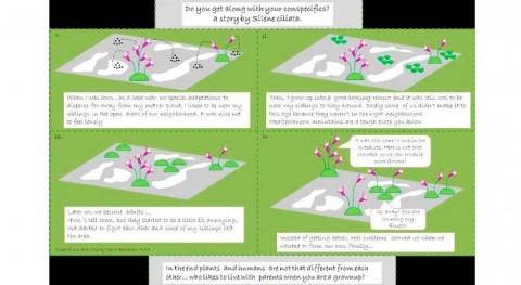 ¿Cómo influye distribución espacial respuesta plantas frente al cambio climático?