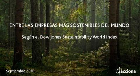 ACCIONA revalida presencia compañías mejores prácticas sostenibilidad