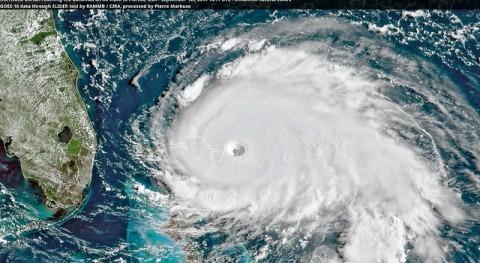huracán Dorian inutiliza servicios aguas paso