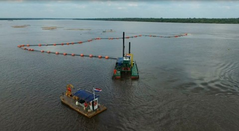 trabajos dragado río Paraguay se extenderán confluencia río Paraná