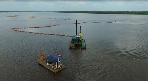 Licitadas obras dragado mantener navegable río Paraguay