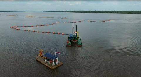 tareas dragado río Paraná comenzarán durante primera quincena septiembre