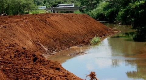 dragado río Tapia Panamá se encuentra al 75% ejecución