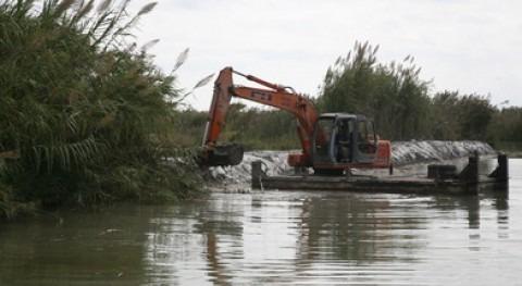 Valencia draga principales canales y acequias lago Albufera