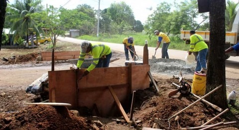 marcha rehabilitación sistemas drenaje distrito Chepo, Panamá