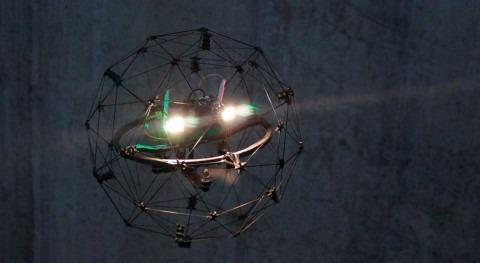 prueba dron EDAR Maqua, que mejorará inspecciones