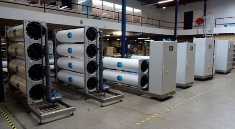 Pure Water Group fabrica varias docenas equipos EDI esta primavera