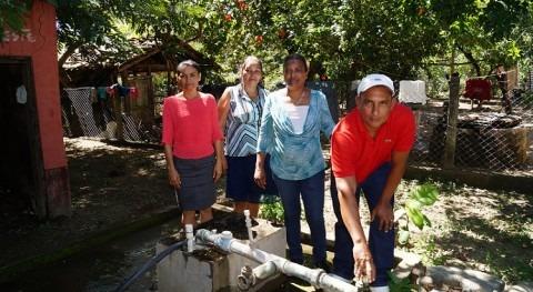 Avanzan mejoras sistemas agua potable Viejo, Chinandega.