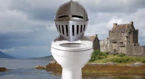 ¿Cómo se iba al lavabo armadura? retretes Edad Media